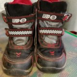 Зимние ботинки disney pixar р-р 28. Фото 1.