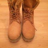 Ботинки timberland. Фото 1.