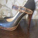 Туфли кожанные новые. Фото 4.