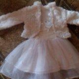 Праздничное платье с балеро. Фото 4. Щёлково.