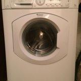 Продам стиральную машинку hotpoint ariston arsl105. Фото 1. Подольск.