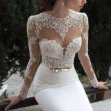 Свадебное платье ( одевала на регистрацию) торг. Фото 1.