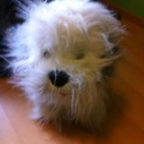 Плюшевая  игрушка собака. Фото 3.