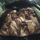 Удлиненная куртка осень-зима. Фото 3.