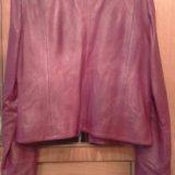 Куртка кожа. Фото 4.