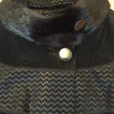 Натуральное замшевое пальто. Фото 3.