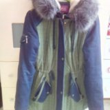 Зимняя курта. Фото 1. Псков.
