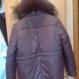 Куртка зимняя с капюшоном на мальчика. Фото 2.