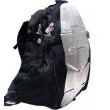 Рюкзак a.s.m.k. с металическими пластинами. Фото 2.