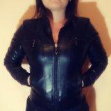 Куртка кожзам. Фото 1.