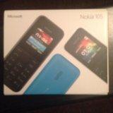 Nokia 105 телефон новый. Фото 1.