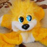 Мягкая игрушка львенок. Фото 1.