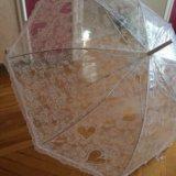 Непромокаемый свадебный зонт. Фото 2.