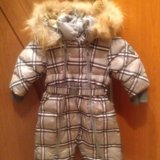 Зимний детский комбинезон gulliver. Фото 1.