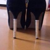 Замшевые туфли 38 размер. Фото 2. Волгоград.