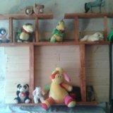 Полочки для игрушок и цветов. Фото 2.