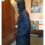 Куртка пальто пуховик, раз м. 46 рост 170 - 176. Фото 2.