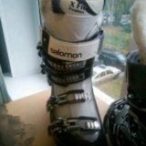 Женские  ботинки salomon. Фото 1.