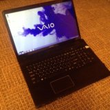 "Sony vaio 17,3"" 4gb/500gb hdd. Фото 1."
