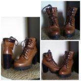 Ботинки carnaby натуральная кожа. Фото 1.