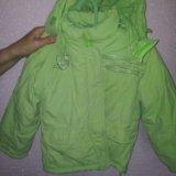 Зимняя куртка для девочки. Фото 2.