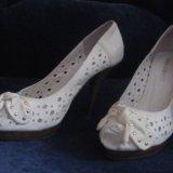 Кожаные туфельки. Фото 4.