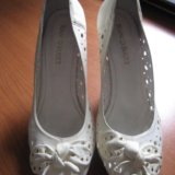 Кожаные туфельки. Фото 1.