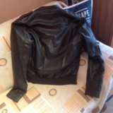 Zara куртка кожаная  italian 46-48 р. Фото 1. Москва.