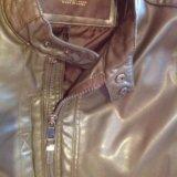 Zara куртка кожаная  italian 46-48 р. Фото 3. Москва.