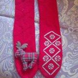 Носки - тапки новогодние. Фото 1.