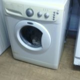 Узкая стиральная машин   whirlpool. Фото 2.