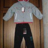 Куртка и брюки весна р110/116/122/128/134, новые. Фото 1.