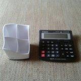 Подставка+калькулятор. Фото 1.