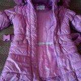 Зимнее пальто для девочки 6-8лет. Фото 1. Владимир.