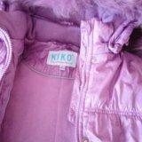 Зимнее пальто для девочки 6-8лет. Фото 2. Владимир.