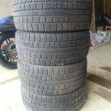 Зимние колеса r18 на merсedes 245/40/r18. Фото 1.