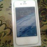 Iphone 4 white. Фото 4.
