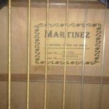 Гитара martinez. Фото 1.