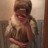 Шапка из меха лисы. Фото 2. Санкт-Петербург.