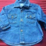 Рубашка джинсовая. Фото 3. Санкт-Петербург.