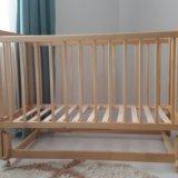 Детская кроватка-маятник. Фото 1. Казань.