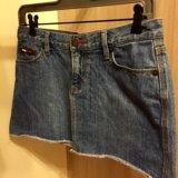 Юбка джинсовая тommy h.44/46. Фото 3.
