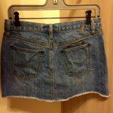 Юбка джинсовая тommy h.44/46. Фото 1.