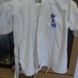 Комплект детской формы для занятий карате. Фото 2.