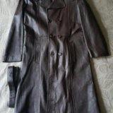 Пальто муж. кожа. Фото 1. Москва.