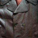 Пальто муж. кожа. Фото 3. Москва.