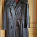 Пальто муж. кожа. Фото 4. Москва.
