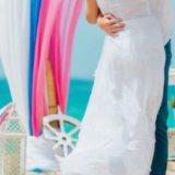 Белое платье в пол. Фото 3.