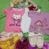 Детские вещи на девочку 2-4 года. Фото 2.