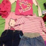Детские вещи на девочку 2-4 года. Фото 1.